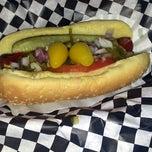 Photo taken at Lenny's Burger Shop by Karen O. on 6/25/2013