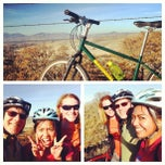 Photo taken at Cycling Turn around Point, Top of the Hill Del Vale by Charlie Anne C. on 12/24/2013