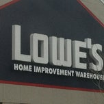 Photo taken at Lowe's Home Improvement by Laura S. on 3/22/2013