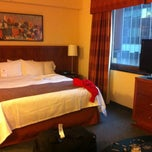 Photo taken at Residence Inn New York Manhattan/Times Square by Nayef A. on 12/21/2012