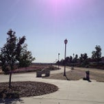 Photo taken at Pacific Electric Trail at Milliken Ave and Central Park by Jennifer C. on 6/20/2013