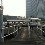 Photo taken at ท่าเรือคลองสาน (Khlong San Pier) by Pannawit P. on 4/8/2013