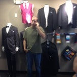 Photo taken at Men's Wearhouse by Troy B. on 6/22/2014