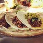 Photo taken at Tacos d.barbacoa El Guero by Pedro Alfonso O. on 12/16/2013