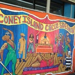 Photo taken at Coney Island Freak Show by Lisa V. on 7/6/2013