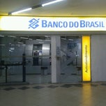 Photo taken at Banco do Brasil by Mari on 4/27/2013