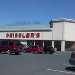 Photo taken at Geissler's Supermarket by Carolyn B. on 4/24/2013