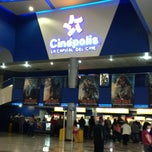 Photo taken at Cinepolis by Oscar M. on 4/13/2013