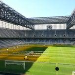Photo taken at Arena da Baixada by Enio A. on 7/19/2014