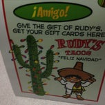 Photo taken at Rudy's Tacos by ctaylorou on 12/23/2012