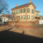 Photo taken at Lincoln Home National Historic Site by Brian B. on 12/18/2012