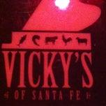 Photo taken at Vicky's of Santa Fe by Mark V. on 2/10/2013