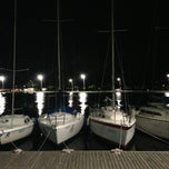 Photo taken at Marina Ponta da Areia Bar e Restaurante by Roberto R. on 6/1/2013