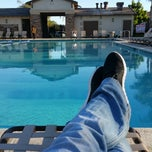 Photo taken at Foothill Swim Club by Anthony D. on 2/26/2015