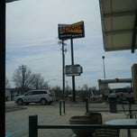 Photo taken at SONIC Drive In by Michael R. on 4/10/2014