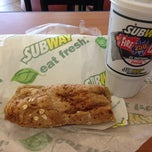 Photo taken at SUBWAY by USCGAUX F. on 4/23/2013