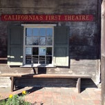 Photo taken at California's First Theater by Can E. on 3/4/2015
