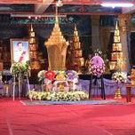 Photo taken at วัดเนื่องจำนงค์ by Chompoo N. on 4/2/2014