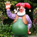 Photo taken at Plopsaland by Kenny B. on 6/10/2013