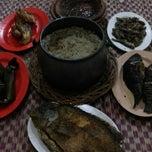 Photo taken at Rumah Makan Ibu Haji Ciganea by Echa J. on 8/10/2014