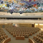 Photo taken at Palais des Nations by Vitaliy S. on 6/24/2013