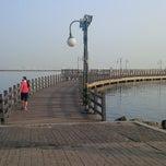 Photo taken at Dermaga Hati,Ancol Beach Pool. by Ali L. on 11/13/2014