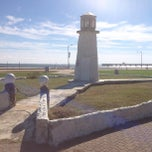 Photo taken at Buckroe Beach by Carter R. on 10/20/2013