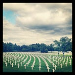 Photo taken at Henri-Chapelle American Cemetery and Memorial by Jean-Francois H. on 9/15/2013