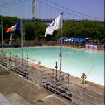 Photo taken at Astoria Park Pool by Bianca S. on 7/4/2012