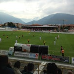 Photo taken at Stadio Velodromo Rino Mercante by Gabriele B. on 6/2/2013