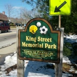 Photo taken at King Street Memorial Park by Geoffrey Z. on 3/24/2013