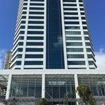 Photo taken at PwC Tower by Nik K. on 12/9/2014