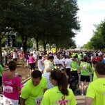 Photo taken at Susan G Komen Race For The Cure North Texas by Jennifer F. on 6/8/2013