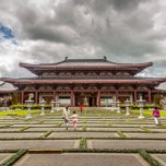 Photo taken at Fo Guang Shan Temple | 北岛佛光山 by Klim A. on 10/27/2013