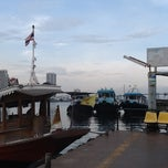 Photo taken at ท่าเรือราษฎร์บูรณะ (บิ๊กซี) Ratburana (Big C) Pier S4 by Pooki J. on 4/28/2013