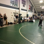 Photo taken at Hoover Gym by Brian M. on 1/17/2013
