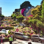 Photo taken at Lombard Street by Chris D. on 7/13/2013