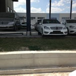 Photo taken at Mercedes-Benz by Kemal I. on 5/21/2013