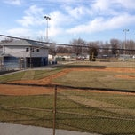 Photo taken at Bradley Bourbonnais Little League Field by Miguel G. on 3/18/2014