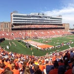 Photo taken at Memorial Stadium by Steve F. on 9/7/2013