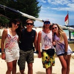 Photo taken at Gili Trawangan by Ula S. on 1/30/2014