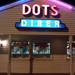Photo taken at Dots Diner by TRST on 12/24/2013