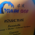Photo taken at Tsunami Sushi by Sean H. on 7/26/2013