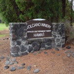 Photo taken at Volcano Winery by Rebecca T. on 5/11/2013