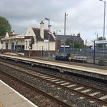 Photo taken at Laurencekirk Railway Station (LAU) by Krissy J. on 5/21/2014