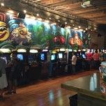 Photo taken at Emporium Arcade Bar by Loren G. on 7/23/2013