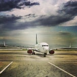 Photo taken at Saparmurat Turkmenbashi International Airport (ASB) by Agus V. on 6/22/2013