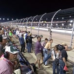 Photo taken at Darlington Raceway by Mel R. on 5/14/2013