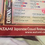 Photo taken at WATAMI Japanese Casual Restaurant by Paul C. on 5/3/2015