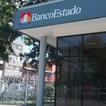 Photo taken at BancoEstado by Stephanie T. on 2/16/2015